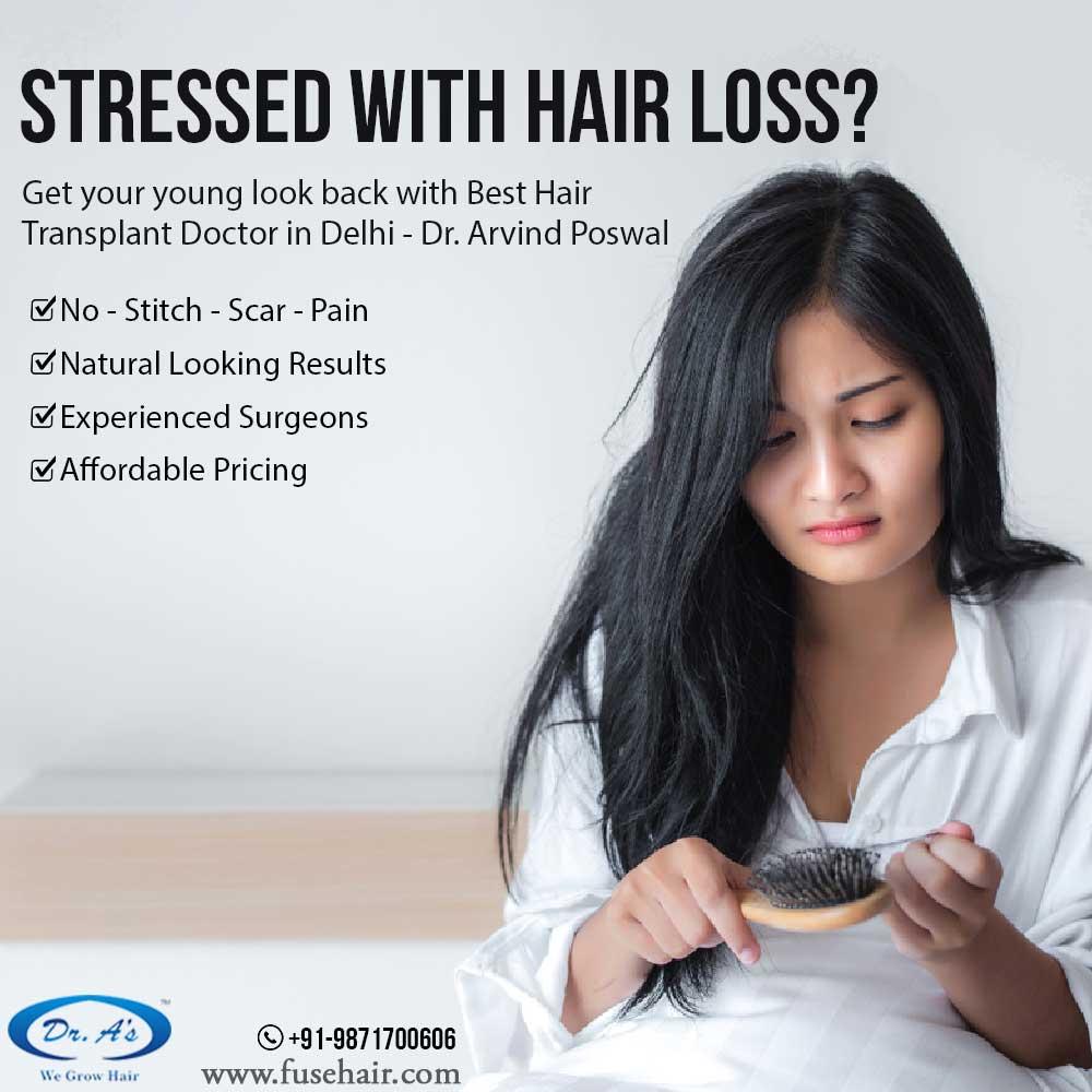 best hair loss and hair transplant treatment delhi