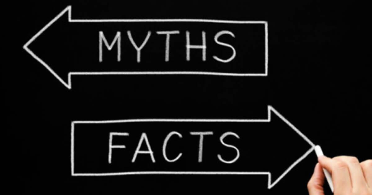 THREE MYTHS OF HAIR LOSS DISPROVED