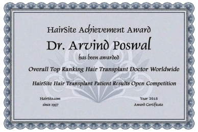 Hair Site Achievement Award, 2015