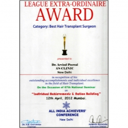 League Extra- Ordinaire Award