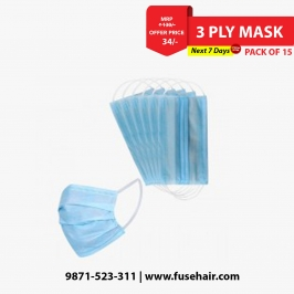 3 Ply Mask (Pack of 15)