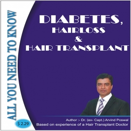 DIABETES, HAIRLOSS & HAIR TRANSPLANT