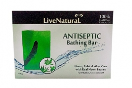 Neem, Tulsi, Aloe Vera Bathing Bar 100g