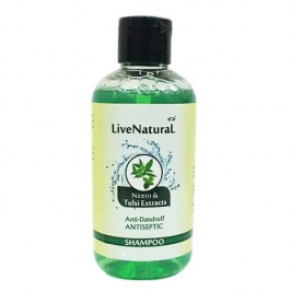 Neem and Tulsi Extracts Anti- Dandruff Antiseptic Shampoo 200ml