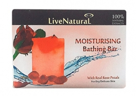 Rose Rose Petals Bathing Bar 100g
